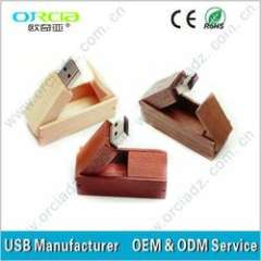 custom wood usb high quality OEM custom wood usb original chip 100% pass the test before sending