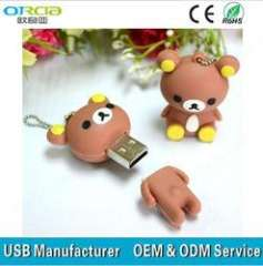 good quality animal cartoon usb pendrive mix