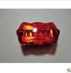 5 LED bicycle taillights / bicycle light / tail lights | Warning Light | riding equipment factory direct 45 g