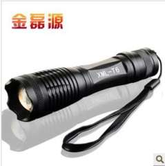 Y19 glare rechargeable flashlight XML-T6 5 files dimming flashlight | T6 dimming flashlight 150 g