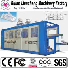 2014 high speed plastic plates and cups making machine