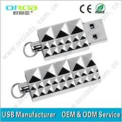 2013 diamond metal usb sell at best cheapest price, mini key USB, metal diamond usb mini USB flash drive