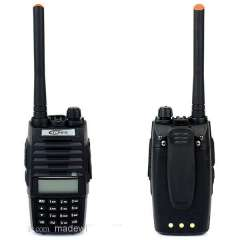 New Black Walkie Talkie TONFA TF-Q5 VHF+UHF 136-174+400-480MHz 256 Memory Channel 10W FM Radio Flashlight VOX Scan Two Way Radio