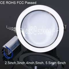 15w 5.5inch 180mm led downlight