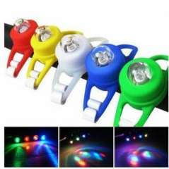 Colorful frog lamp light ring lamp | Cycling Accessories | Bike | Single lamp | 2 per card with wholesale 50 g