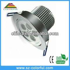 5w high quality led downlight led downlight with super brightness 2 years warranty time, ip65