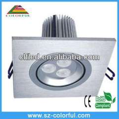 high quality 7w led downlight downlight with super brightness 2 years warranty time, ip65