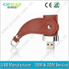 Novelty Leather Cover USB Flash Drive \leather usb 32GB