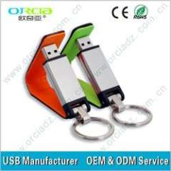 Hot!! Leather Flash Drive in good quality(ORU-L010)