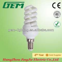 China 5-9W T2 Mini Full Spiral Energy Saving Lamp