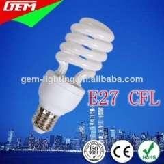 CE High Quality Half Spiral E27 CFL Bulb From China Factory