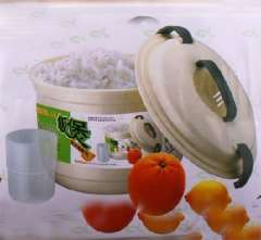 Dedicated microwave rice cooker
