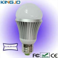 CE\FCC\ROHS certifated 5w LED bulb lamp with E27 base