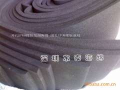 Manufacturers supply of ultra low-cost openings EPDM foam, black hole EPDM rubber foam