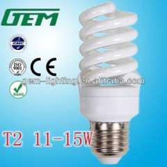 6500K T2 Full Spiral 11W Energy Saving Lamp