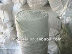 2mm*1m*30m) fireproof stainless steel wire reinforced ceramic fiber cloth