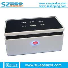 New products for 2013, wireless bluetooth speaker, mini bluetooth speaker, with touch screen