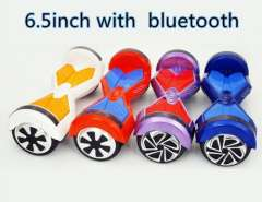 two wheel smart balance electric scooter bluetooth with flashlights