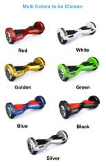 2015 newest 2 wheels powered self balance scooter with flashlights