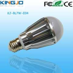 New style 2years qualit warranty e27 7w led bulb