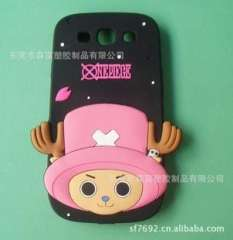 Mouth monkey silicone mobile phone sets, hellokitty silicone PVC mobile phone sets, mobile phone sets soft Piece