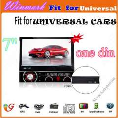2014 newest DH7090 7' 1Din System media audio GPS IPOD TV BT PiP etc