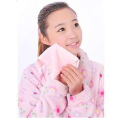 Blue flower beauty cleansing towels Jing