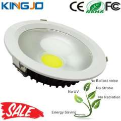 Professional Supplier COB LED Downlight with 210mm cut-out, 30W power