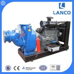 P -type self-priming centrifugal pump without clogging sewage