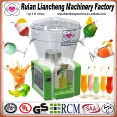 Beverage filling machine and flavoured drink filling machine