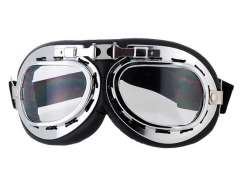 Comfortable-to-Wear Goggle with Durable Frame (Transparent) M.