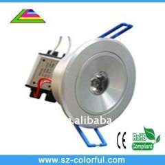 high brightness of 1*3w Led downlight