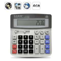 Built in 4GB Real Office Business Calculator Spy Mini Hidden Camera DVR Video Recorder Camcorder