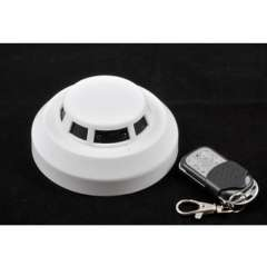 Smoke DVR Camera Smoke Detector Camera With 30M Remote Control 1080P H.264 30fps
