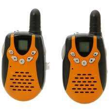 5.0 KM Walkie Talkie Orange Black MT-600