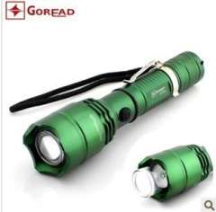 C58 glare rechargeable flashlight CREE R2 rotating the zoom camp lights | LED flashlight | aluminum flashlight Ninghai