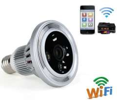 1080 p hd Point to point remote control hidden wifi bulb camera