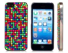 Joyroom Colorful Dot Decoration Plastic Case for iPhone 5