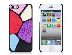 Ball Pattern Matte Plastic Skinning Case for iPhone 5