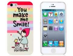 Remeo Cartoon Pattern Plastic Case for iPhone 5