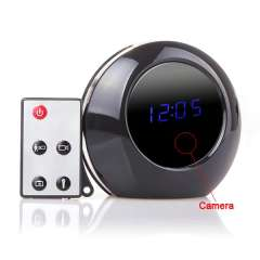 Wholesale Multi-function Alarm Clock HD Camera \ Monitor Recorder with Motion Detction Function