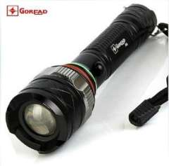 Passers A6 XML-T6 Flashlight | Zoom flashlight | five-speed variable optical | 18650 rechargeable flashlight
