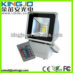 80W RGB Flood Light CE\ROHS\FCC Outdoor Wall Lamp