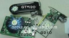 NVIDIA desktop graphic card GT520 1GB video card