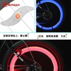 GB01 Bicycle wire lights | Colorful lights bicycle taillights | Bicycle Warning Light | LED bike lights