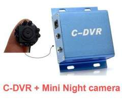 Mini Security DVR SD Card night vision camera