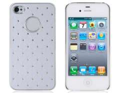 PC Stars Designed Protective Case for iPhone 4 & 4S (White)