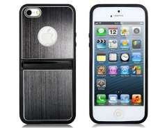 Protective Case with Stand for iPhone 5 (Black)