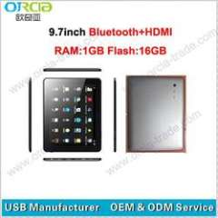 good quality 9.7inch tablet pc Android 4.0 with bluetooth&HDMI
