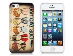 IMD Painting Glossy Student Design PC Protective Case for iPhone 5